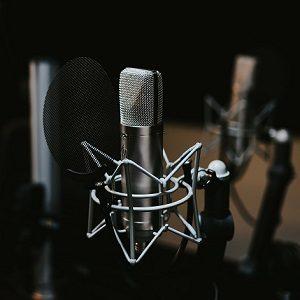 microphone pour comédien voix off