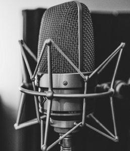 image d'un microphone à condensateur